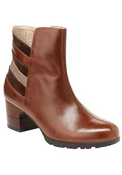 Amal Water-Resistant Wide Calf Boots by Jambu®, BROWN MULTI, hi-res