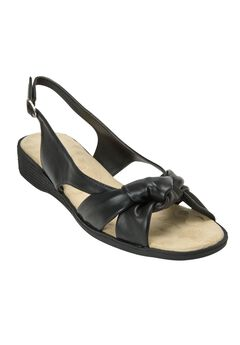 Marlee Sandals by Comfortview®, BLACK, hi-res