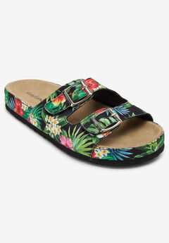 Maxi Footbed Sandal by Comfortview®,
