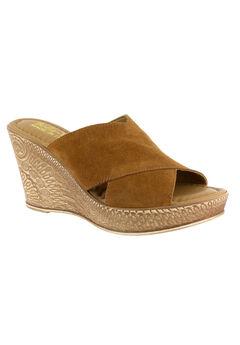 Edi-Italy Sandals by Bella Vita®, TOBACCO SUEDE, hi-res