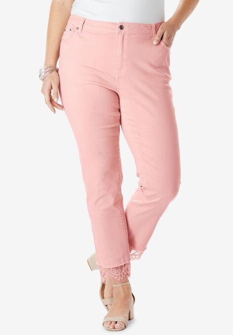 6c18ca5514a Lace-Hem Skinny Jean By Denim 24 7®
