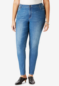 Skinny Jean By Denim 24/7®, MEDIUM WASH