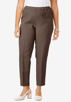 Bend Over® Ankle Pant, CHOCOLATE