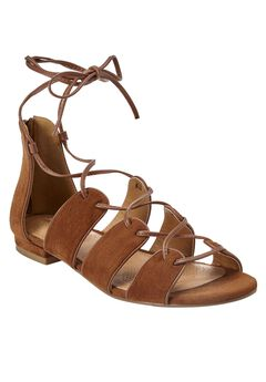 Wexi Sandals by Comfortview®, COGNAC, hi-res