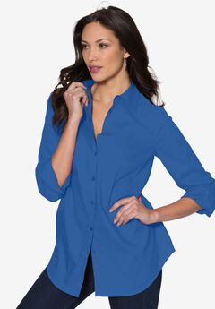 Katelyn Shirt, ROYAL PERIWINKLE, hi-res