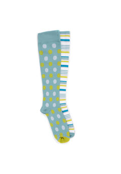 2 Pair Pack Compression Socks,