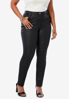 Coated Skinny Jean By Denim 24/7®,