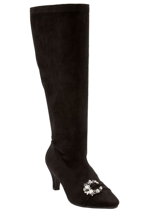 4fe3ed28fc6a The Chrissy Wide Calf Boot by Comfortview®