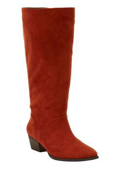 The Felicity Wide Calf Boot by Comfortview®,