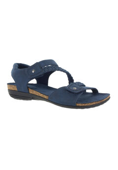 Zone Sandals by Easy Street®, NAVY, hi-res