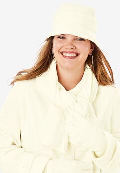 Fleece Hat, IVORY