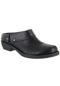 Becca Slip-Ons by Easy Street®, BLACK CROCO, hi-res