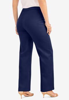 Wide-Leg Bend Over® Pant, NAVY