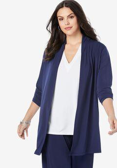 Ultrasmooth® Long-Sleeve Cardigan,