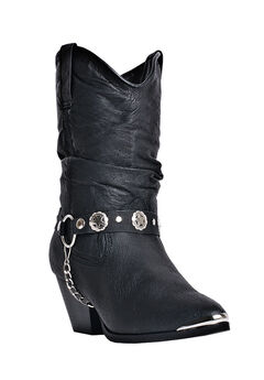 Olivia Wide Calf Boots by Laredo, BLACK, hi-res