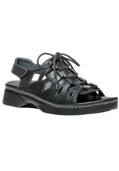 GhillieWalker Sandals by Propet®, BLACK, hi-res