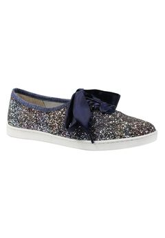 Shimmo Sneakers by J.Renee®, BLUE GOLD MULTI, hi-res