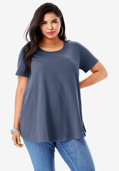 Ultimate Trapeze Tee, NAVY