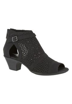 Carrigan Booties by Easy Street®, BLACK, hi-res
