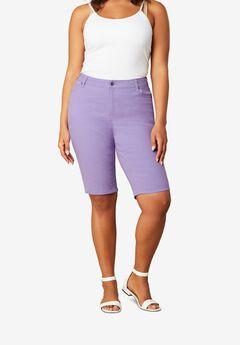 Bermuda Short by Denim 24/7®, VINTAGE LAVENDER