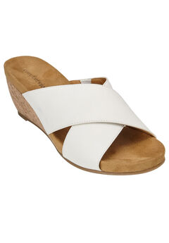 Sheba Sandals by Comfortview®, WHITE, hi-res