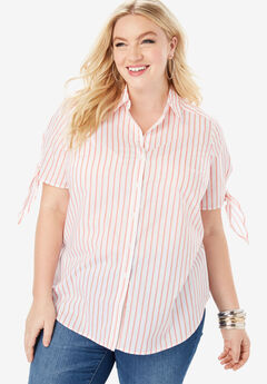 Tie-Sleeve Kate Shirt,
