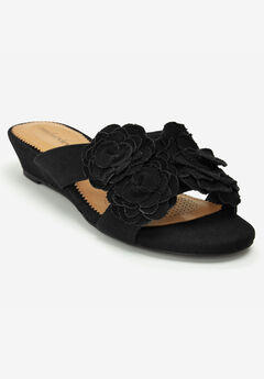 The Carmen Mule by Comfortview®, BLACK