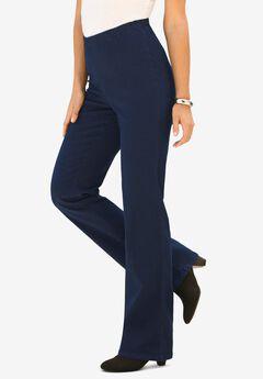 Bootcut Pull-On Stretch Jean, INDIGO WASH