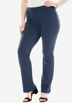 Ultimate Ponte Bootcut Pant, NAVY