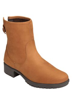 Just Kidding Wide Calf Boots by Aerosoles®, DARK TAN NUBUCK