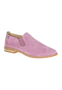 Analise Clever Loafer by Hush Puppies®, DUSTY ORCHID SUEDE, hi-res