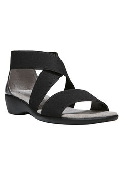 Tellie Sandals by LifeStride®, BLACK, hi-res