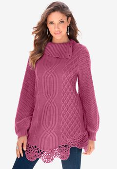 Cable Sweater,