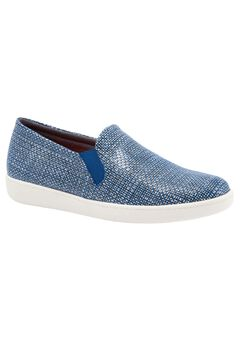 Americana Slip Ons by Trotters®, NAVY WHITE, hi-res