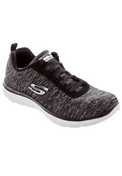 Flex Appeal Sneakers by Skechers®, BLACK MEDIUM, hi-res