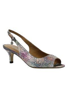 Impuls Sling Back Pumps by J. Renee®,