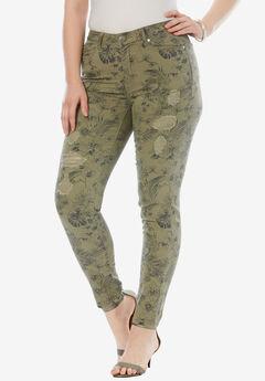 d63d2c48090c Distressed Twill Jeans by Denim 24 7