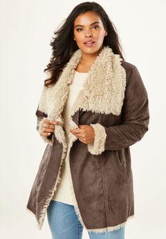 Cascade Shearling Jacket,
