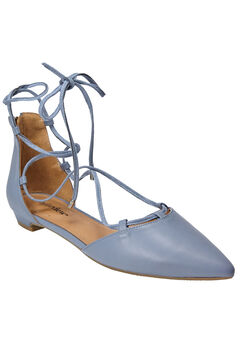 Dora Flats by Comfortview®, CHAMBRAY