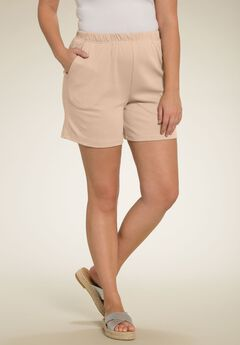 Soft Knit Short, NEW KHAKI