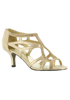 Flattery Pump by Easy Street®, GOLD