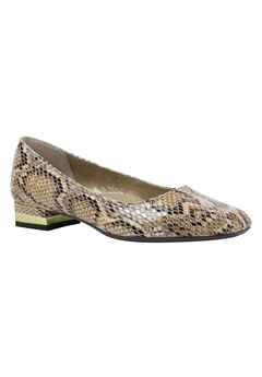 Eledora Flats by J.Renee®, BEIGE MULTI, hi-res