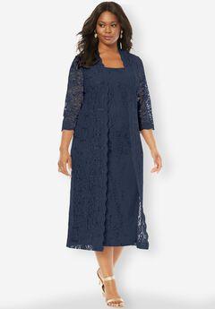 Flyaway Full Length Jacket Dress