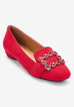 The Paz Flat by Comfortview®, BRIGHT RUBY