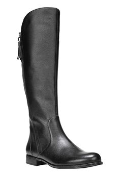 Jinnie Boots by Naturalizer®, BLACK LEATHER, hi-res