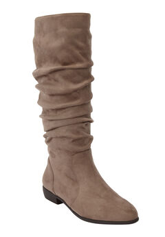 The Shelly Wide Calf Boot ,