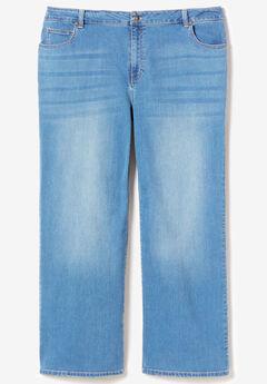 Wide-Leg Jean By Denim 24/7®,