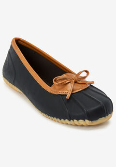 The Eliana Rain Flat By Comfortview®, BLACK