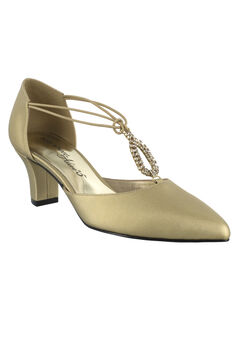 Moonlight Pumps by Easy Street®, GOLD SATIN, hi-res