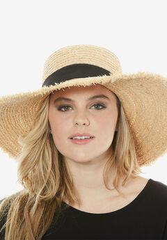 Straw Hat, TAN, hi-res